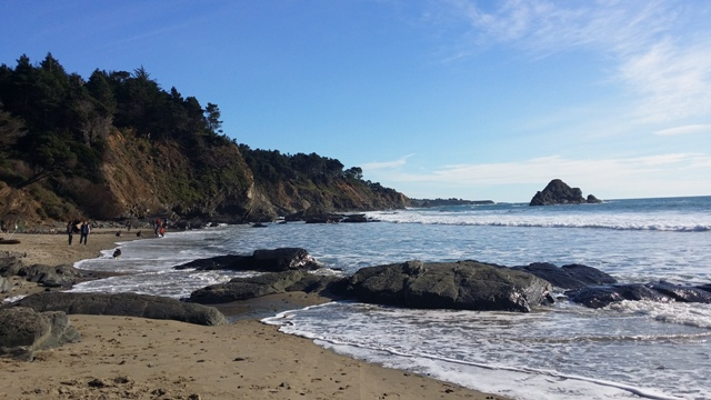 A short walk from the house is Anchor Bay Beach