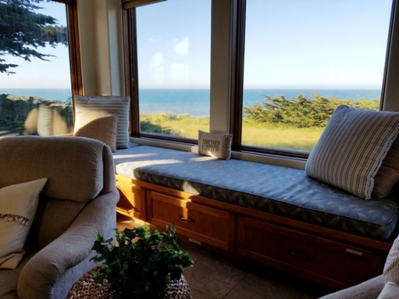 Great room seating with open views.