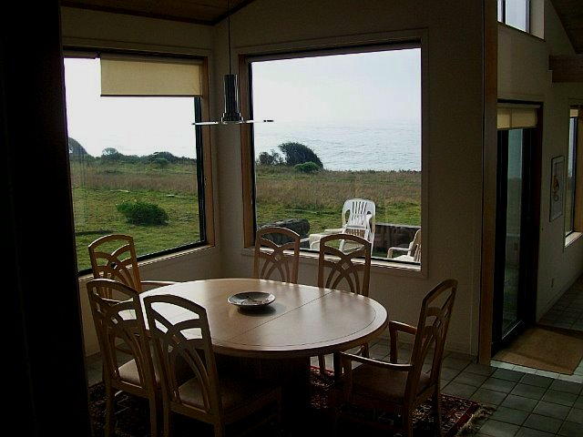 dining room, with great views!