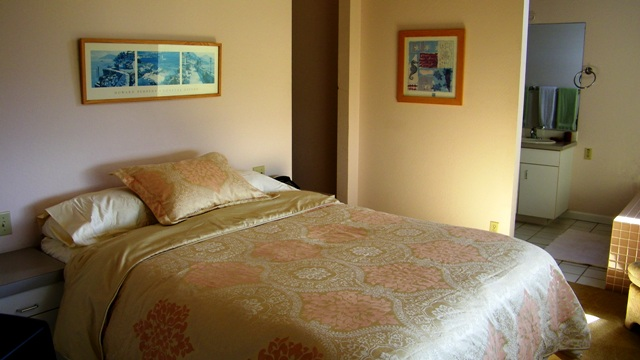 The masterbedroom also enjoys the fantastic ocean views