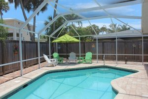 2 bedroom vacation rental with pool on Fort Myers Beach