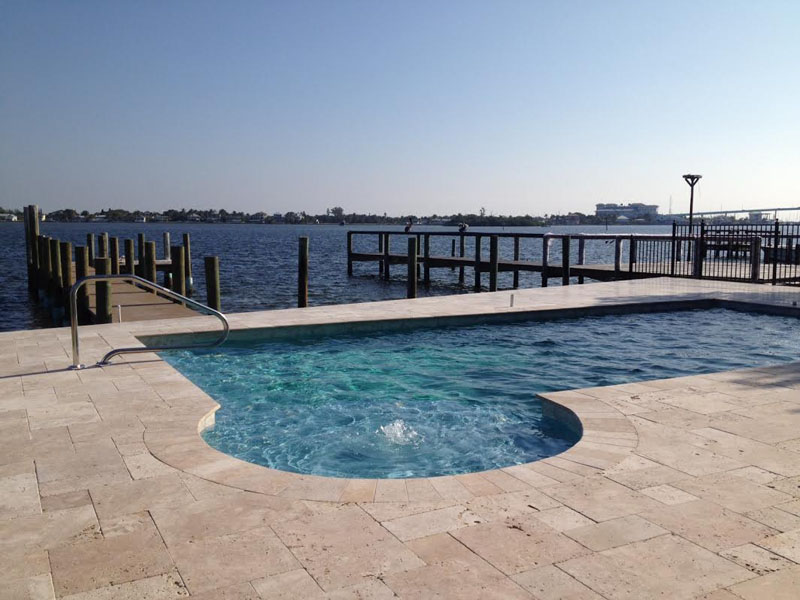 Bay front vacation home with pool in Fort Myers Beach, FL