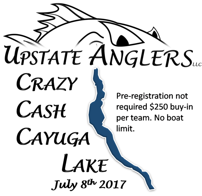 Upstate Anglers Crazy Cash Fishing Tournaments..
