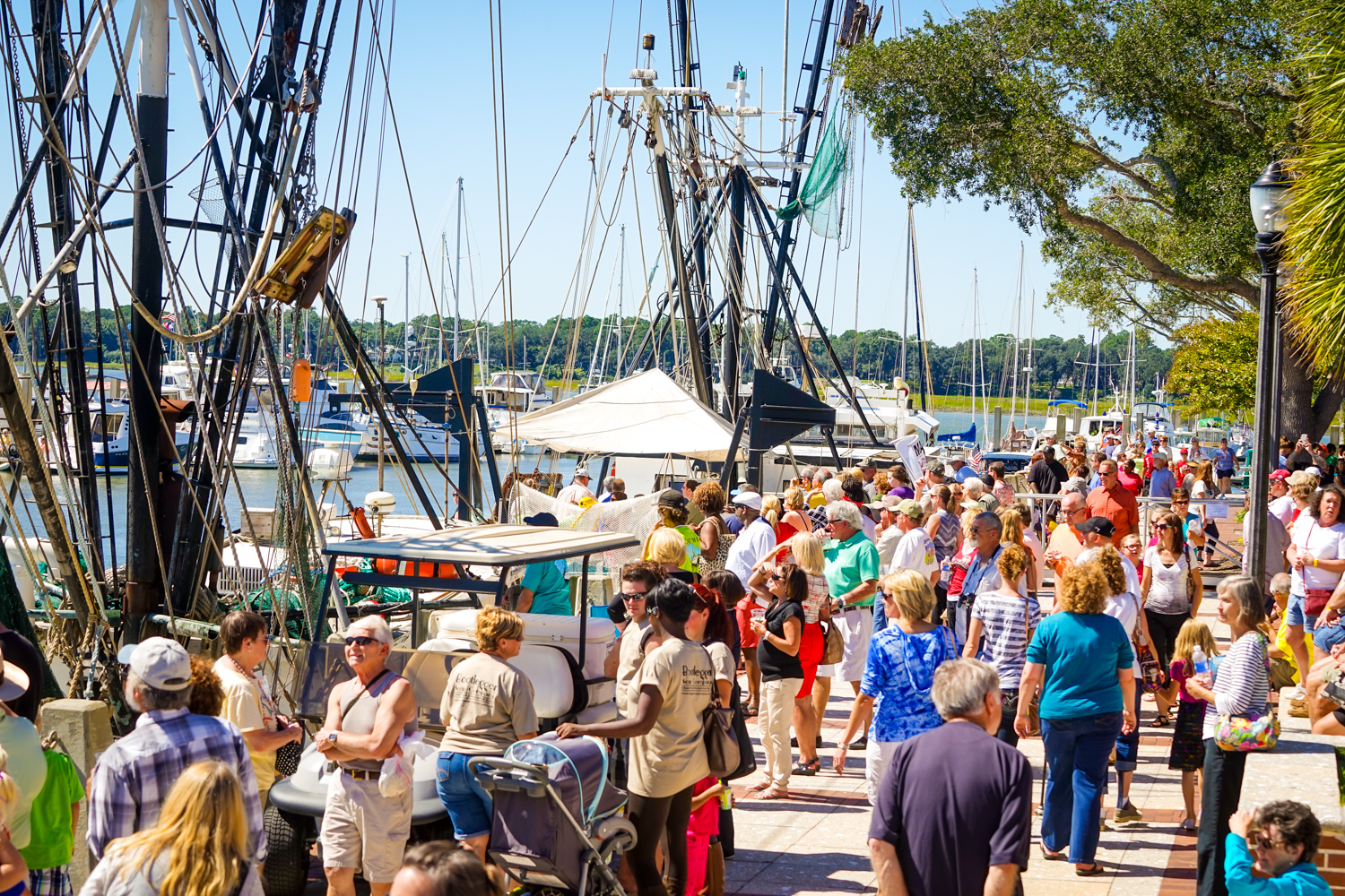 The Beaufort Shrimp Festival and 5k Race