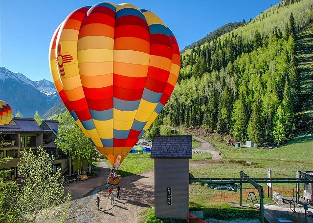 Vacation Accommodations for the Telluride Balloon Festival