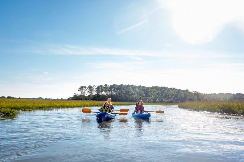Trip Idea to Kayak along the Sea Islands of SC