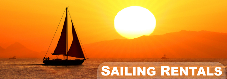 Sailing on Vacation - Nearby Home Rentals