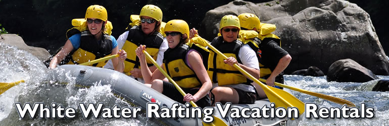 White Water Rafting on Vacation