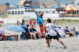 Ultimate Beach Frisbee Tournament