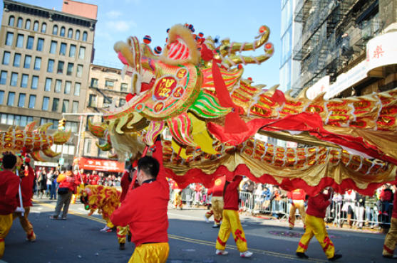 Chinese new year lunar parade and festival find rentals for Events going on in new york city
